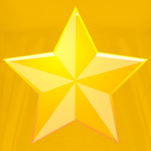 Shaded Yellow Star - Men's Premium T-Shirt