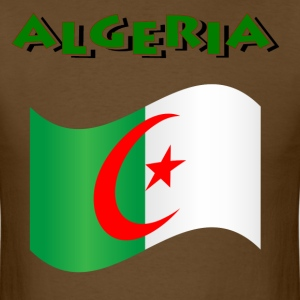 Flag Of Algeria T-Shirts - Men's T-Shirt