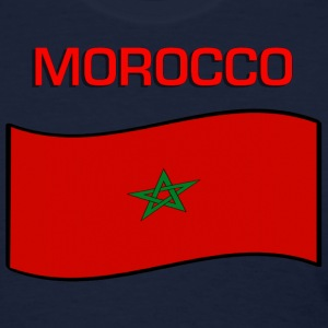 Flag Of Morocco Women's T-Shirts - Women's T-Shirt