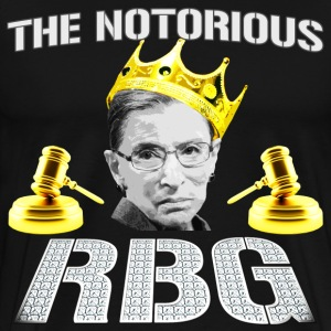 Funny - The Notorious RBG - Men's Premium T-Shirt