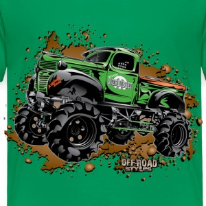 Over Budget Mud Truck Baby & Toddler Shirts - Toddler Premium T-Shirt