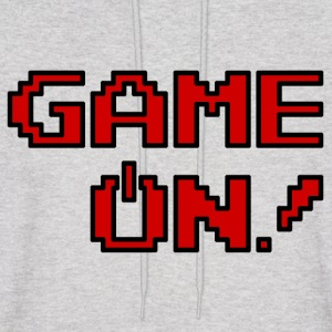 Game On.png Hoodies - Men's Hoodie