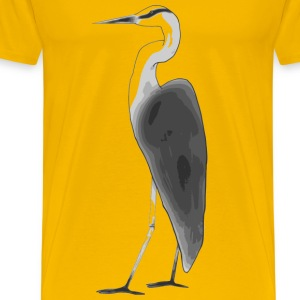 Heron - Men's Premium T-Shirt