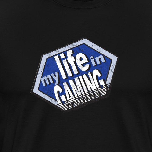 My Life in Gaming Men's T-Shirt (Spreadshirt)