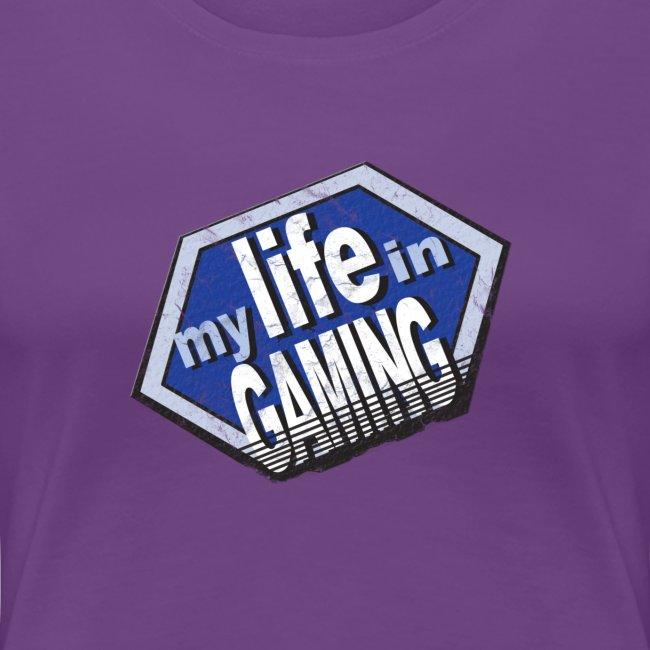 My Life in Gaming Women's T-Shirt (Spreadshirt)