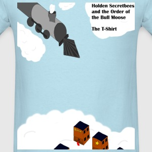Holden Secretbees and the Order of the Bull Moose- - Men's T-Shirt