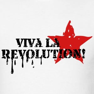 VIVA LA REVOLUTION, CUBA, RED STAR, ANARCHY, PUNK T-Shirts - Men's T-Shirt