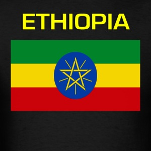 Flag of Ethiopia T-Shirts - Men's T-Shirt