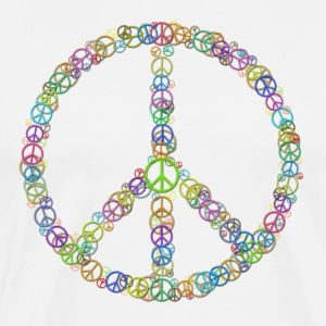 Peace Sign of Peace Signs T-Shirts - Men's Premium T-Shirt