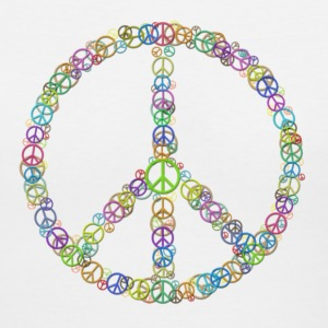 Peace Sign of Peace Signs Women's T-Shirts - Women's V-Neck T-Shirt