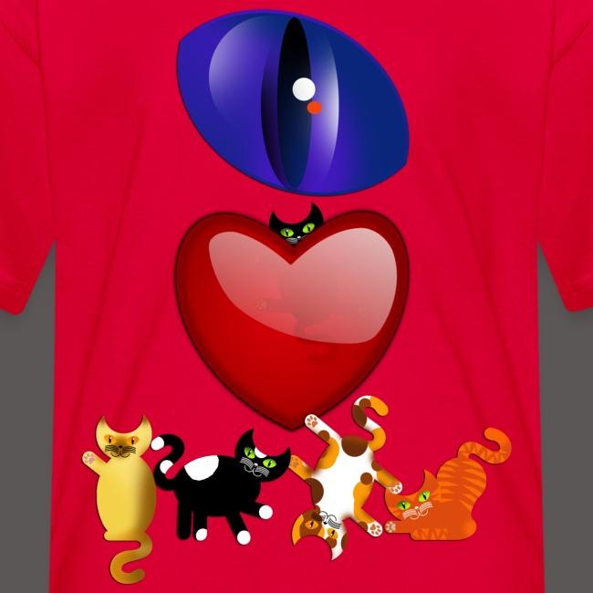 EYE LOVE CATS