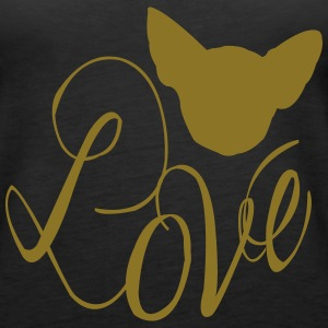 Chihuahua Love 2 Tanks - Women's Premium Tank Top