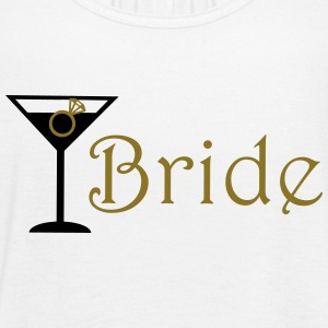 bride cocktails with ring Tanks - Women's Flowy Tank Top by Bella