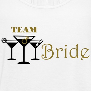 team bride cocktails with ring Tanks - Women's Flowy Tank Top by Bella