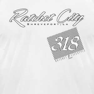 Ratchet Lifestyle 318 T-Shirt ( Black ) - Men's T-Shirt by American Apparel