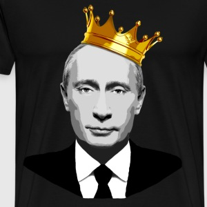 Vladimir Putin the Czar  - Men's Premium T-Shirt