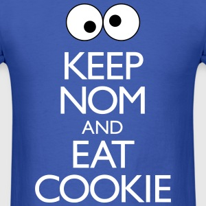 Keep Nom And Eat Cookie T-Shirts - Men's T-Shirt