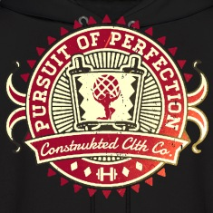 Pursuit of Perfection Vintage Emblem Hoodies