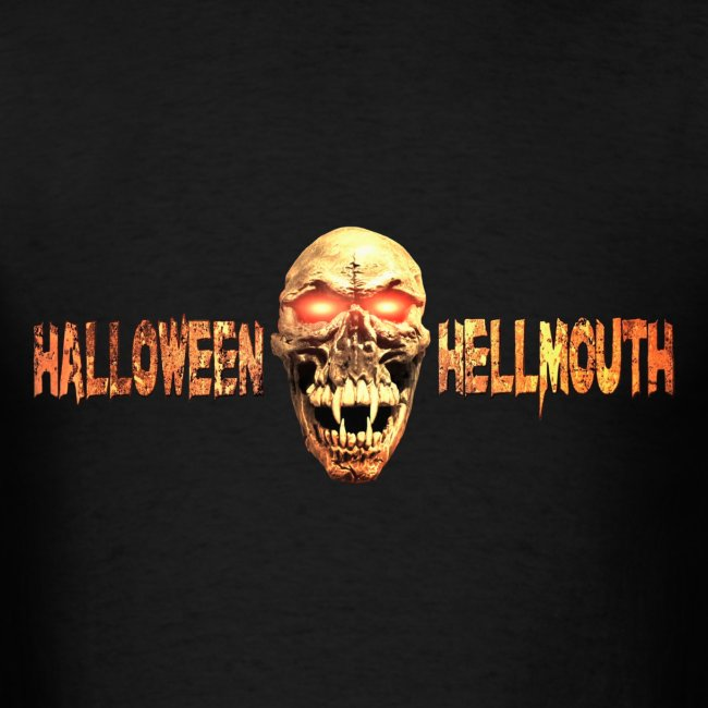 Mens Hellmouth Logo T