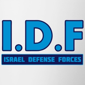 IDF Israel Defense Forces 3 - Contrast Coffee Mug