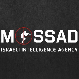 Mossad - Israeli Intelligence Agency - with Scope - Tote Bag