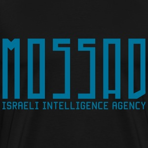 Mossad - Israeli Intelligence Agency - Men's Premium T-Shirt