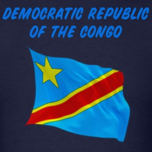Congo Flag T-Shirts - Men's T-Shirt