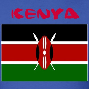 Kenyan Flag T-Shirts - Men's T-Shirt