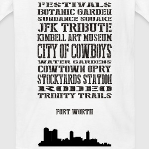 Fort worth Kids' Shirts - Kids' T-Shirt