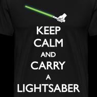 Design ~ Keep calm and carry a lightsaber