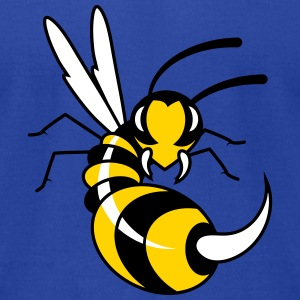 Wasp with giant sting  T-Shirts - Men's T-Shirt by American Apparel