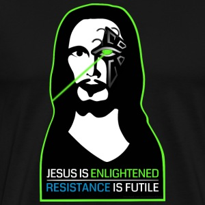 Ingress - Enlightened - Borg - Men's Premium T-Shirt