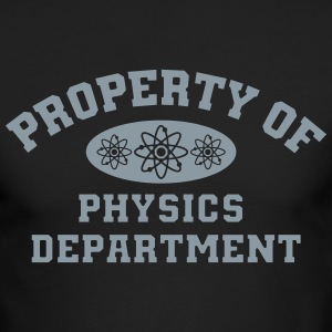 Property Of Physics Department - Men's Long Sleeve T-Shirt by Next Level