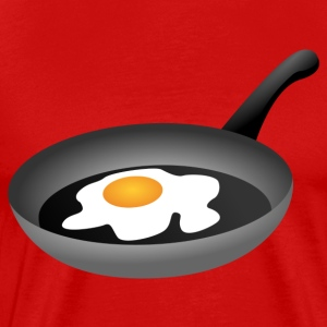Fried egg in frying pan Shirt - Men's Premium T-Shirt