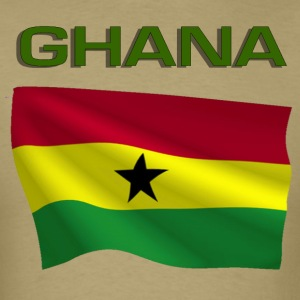 Ghanaian Flag T-Shirts - Men's T-Shirt