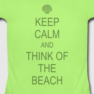 Keep Calm Beach Baby & Toddler Shirts - Short Sleeve Baby Bodysuit