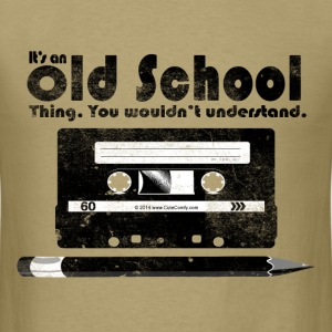 Old School Thing Cassette Retro 80s T-Shirts - Men's T-Shirt