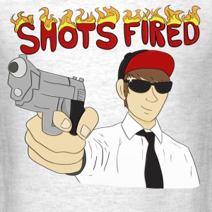 Shots Fired - Men's T-Shirt