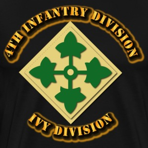 4th Infantry Division - Ivy Division - Men's Premium T-Shirt