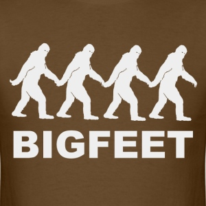 Big Feet Bigfoot T-Shirts - Men's T-Shirt