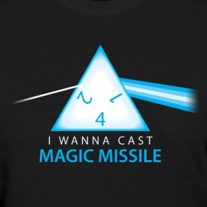 Dungeons & Dragons Pink Floyd d4 Magic Missile - Women's T-Shirt