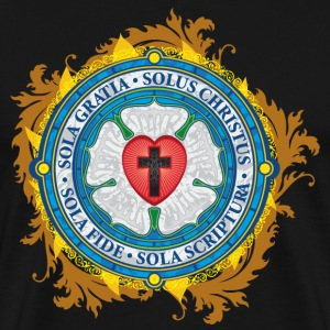 Luther Rose Lutheran Seal - Men's Premium T-Shirt