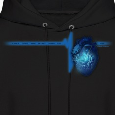Police Heart TEW Hoodies