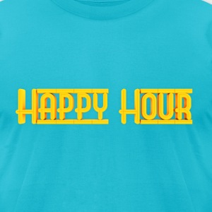 Machinima Happy Mens Logo Tee - Men's T-Shirt by American Apparel