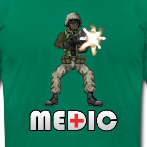Battlefield Friends - Medic  - Men's T-Shirt by American Apparel