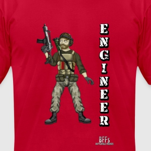 Battlefield Friends - Engineer - Men's T-Shirt by American Apparel