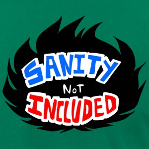 Sanity Not Included - Logo - Men's T-Shirt by American Apparel