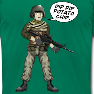 BFFs Noob - Dip Dip Potato Chip - Men's T-Shirt by American Apparel