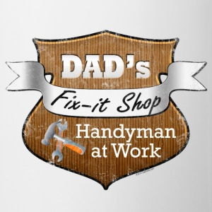Funny Dad's Fix-It Shop Bottles & Mugs - Coffee/Tea Mug
