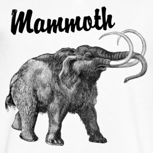 Mammoth v-neck - Men's V-Neck T-Shirt by Canvas